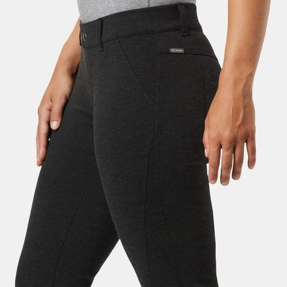 Columbia Womens Outdoor Ponte II Pants Charcoal Heather