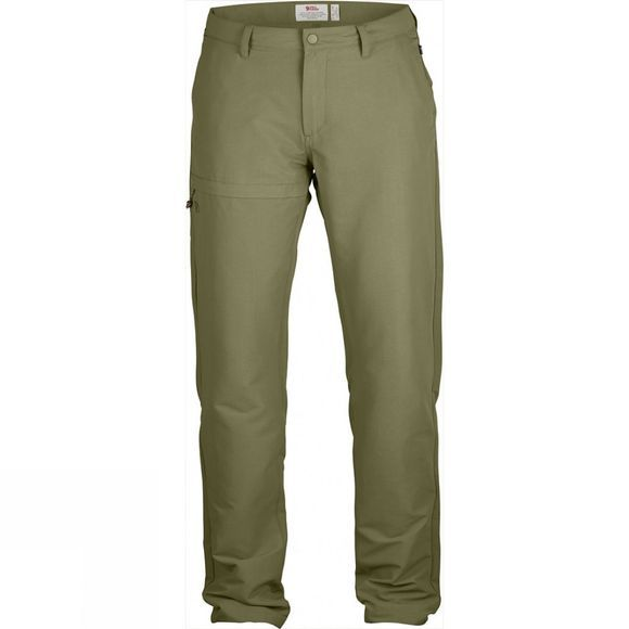 Fjallraven Womens Travellers Trousers Savanna