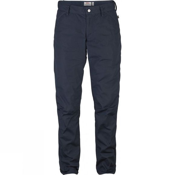 Fjallraven Womens High Coast Fall Trousers Night Sky