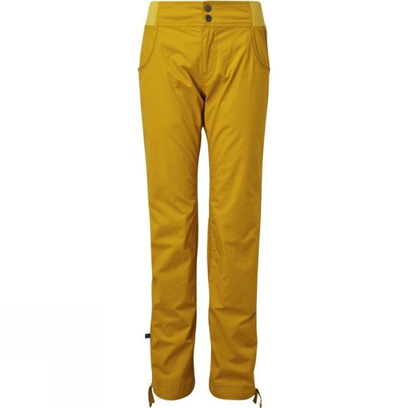 Rab Womens Valkyrie Pants Dark Sulphur