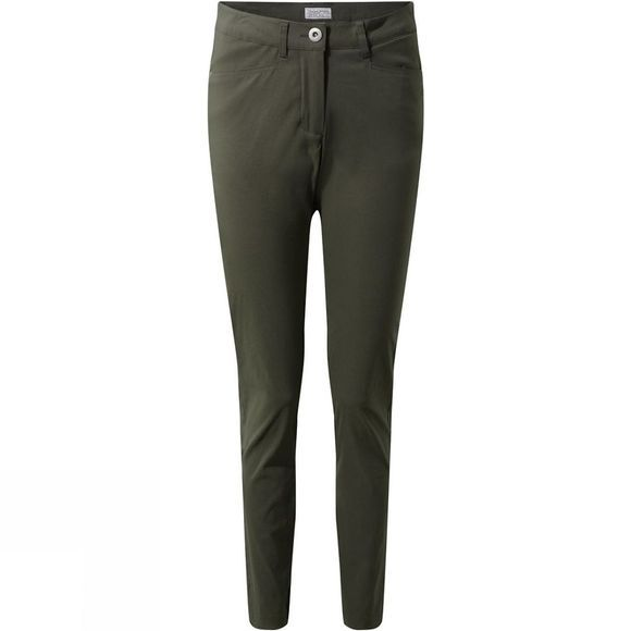 Craghoppers Womens Nosidefence Adventure Trousers Mid Khaki