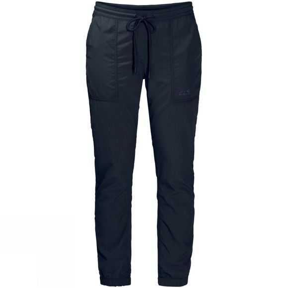 Jack Wolfskin Womens Kalahari Cuffed Pants Midnight Blue