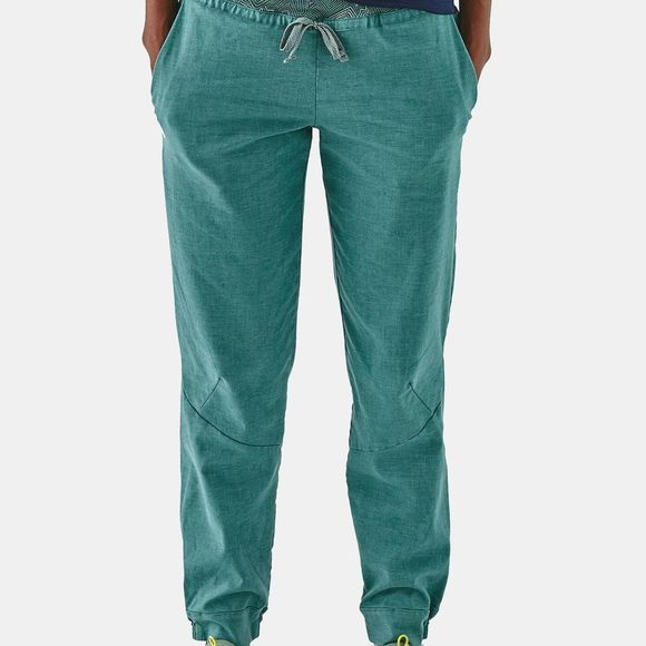 Patagonia Womens Hampi Rock Pants Tarkine Fern: Tasmanian Teal