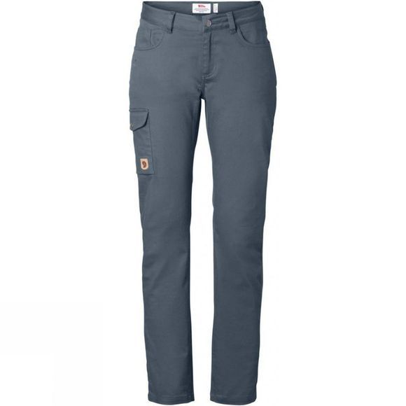 Fjallraven Womens Greenland Stretch Trousers Dusk