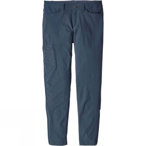 Patagonia Womens Skyline Traveller Pants Stone Blue