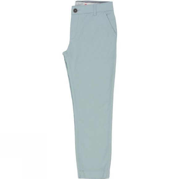 Brakeburn Womens Cropped Chino Trousers Blue