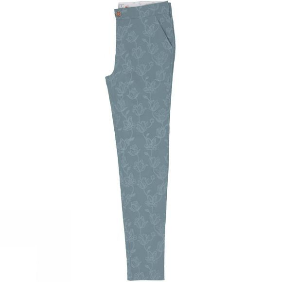 Womens Tulip Print Chino Trousers
