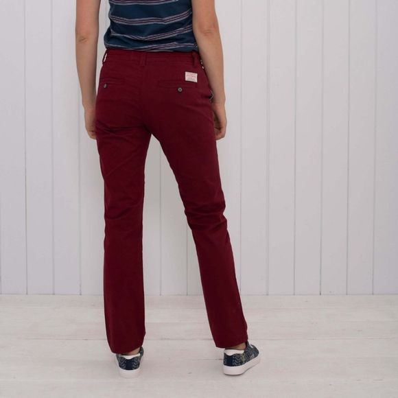 Womens Relaxed Fit Chino