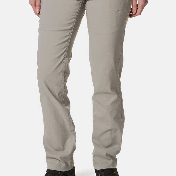 Craghoppers Womens Kiwi Pro II Trousers Platinum