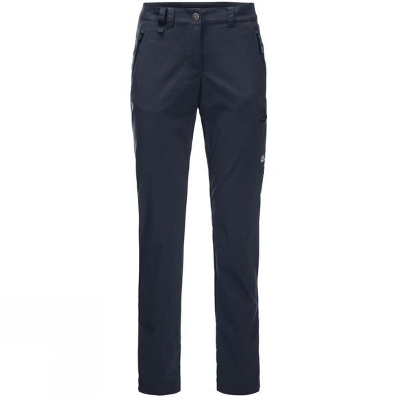 Jack Wolfskin Womens Wicken Fen Trousers Night Blue