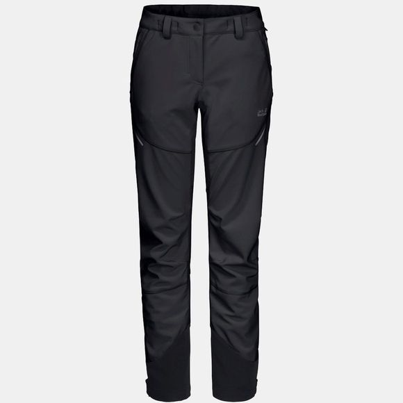 Jack Wolfskin Womens Gravity Slope Pants Black