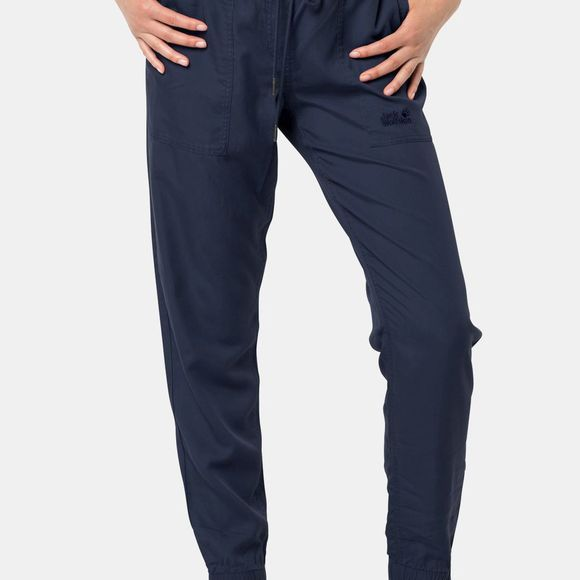 Jack Wolfskin Womens Mojave Pants Midnight Blue