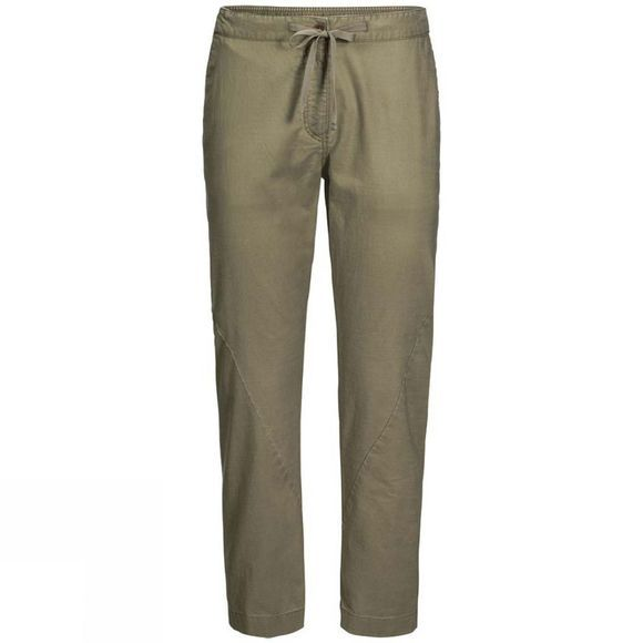 Jack Wolfskin Womens Blue Lake Pants Khaki