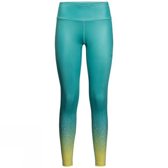 Jack Wolfskin Womens Starry Night Tights Aquamarine All Over