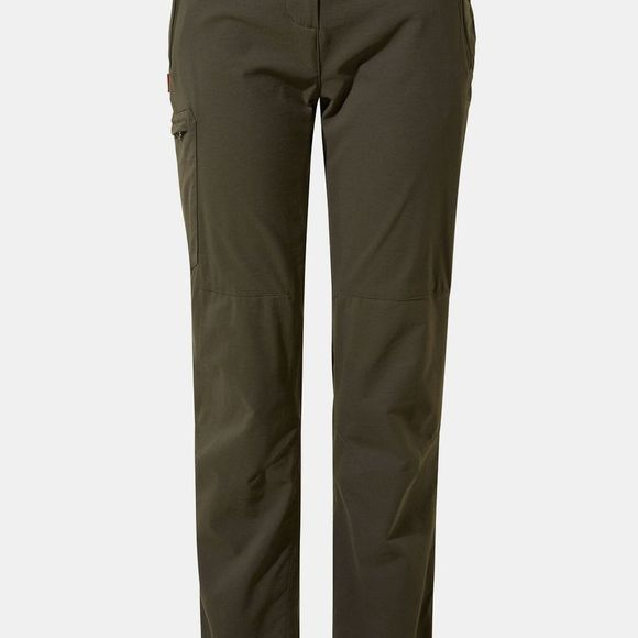 Craghoppers Womens NosiLife Pro II Trousers Mid Khaki