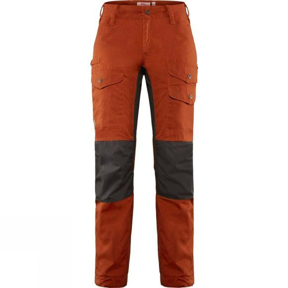 Fjallraven Women's Vidda Pro Ventilated Trousers Autumn Leaf-Stone Grey