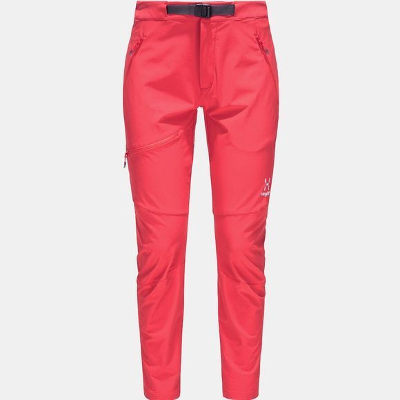 Haglofs Lizard Pant Women Hibiscus red