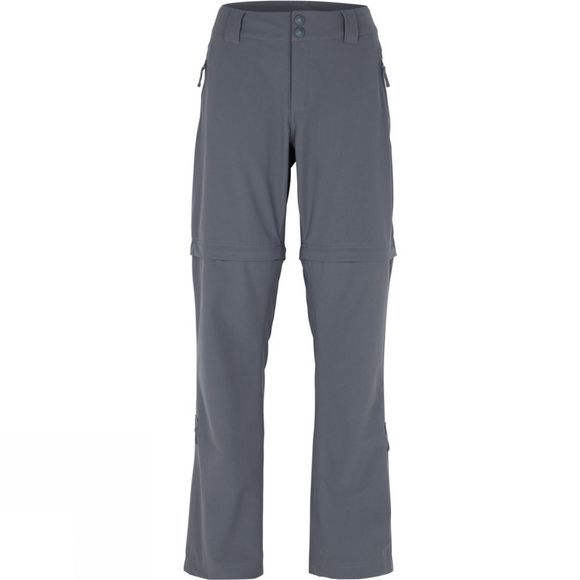 The North Face Womens Green Lake Zip Off Trousers Vanadis Grey