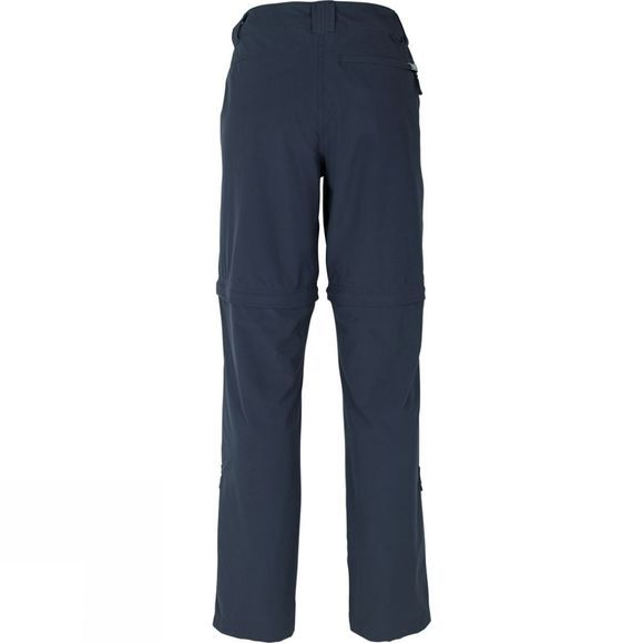The North Face Womens Green Lake Zip Off Trousers Urban Navy