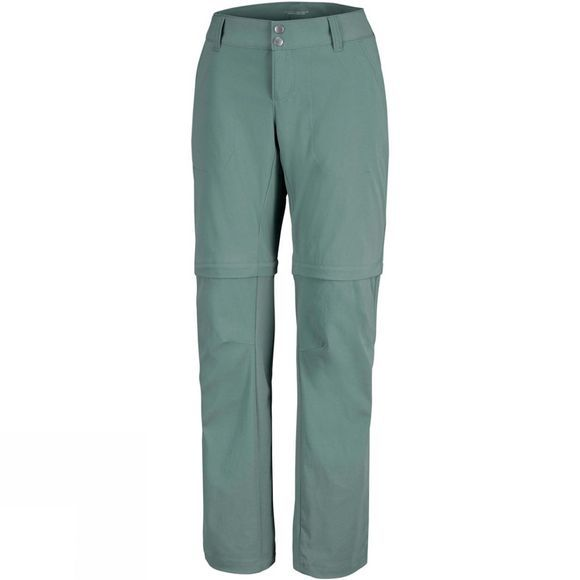 Columbia Womens Saturday Trail II Convertible Pants Pond