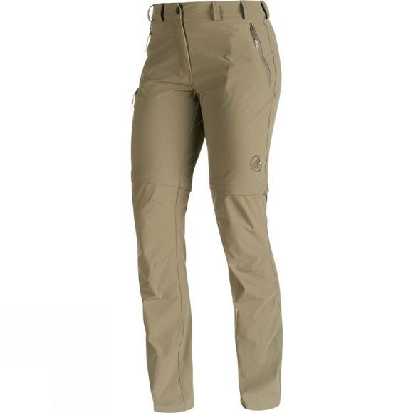 Mammut Womens Runje Zip Off Pants Dolomite