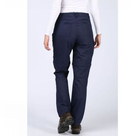 Ayacucho Womens Camps Bay Zip Off Trouser Navy