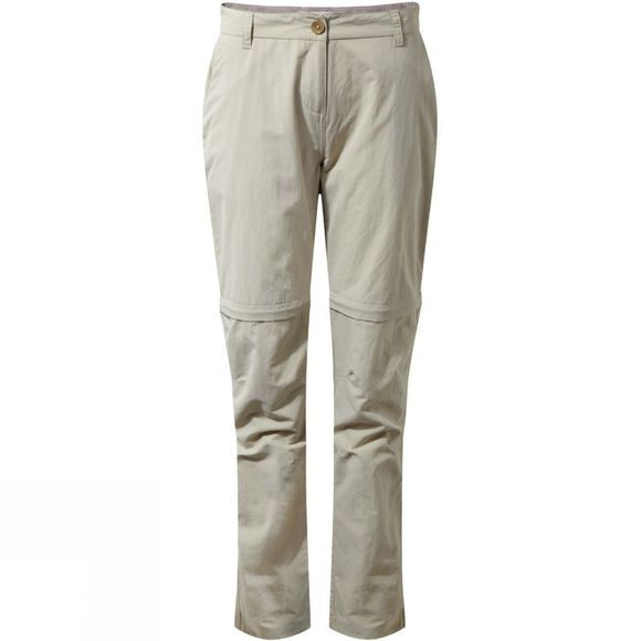 Craghoppers Womens NosiLife Zip Off Trousers Desert Sand