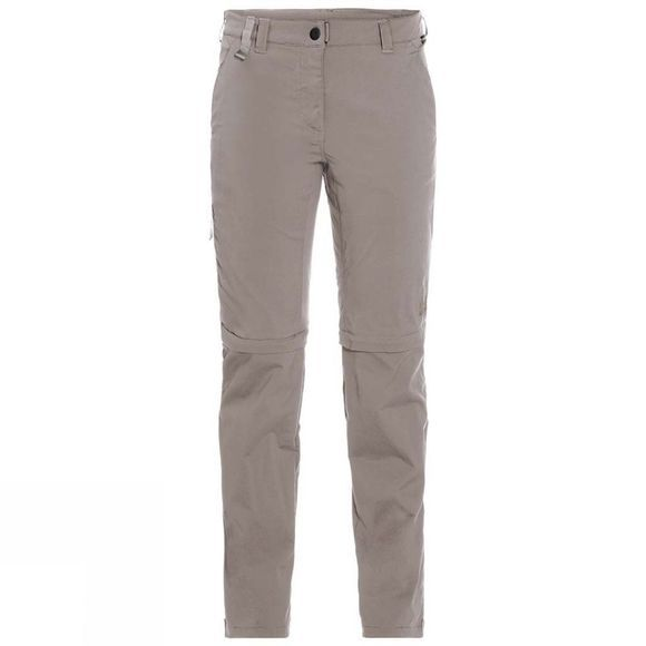 Jack Wolfskin Womens Activate Light Zip Off Trousers Moon Rock