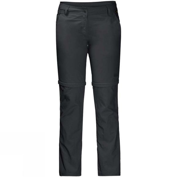 Jack Wolfskin Womens Marrakech Zip Off Trousers Phantom