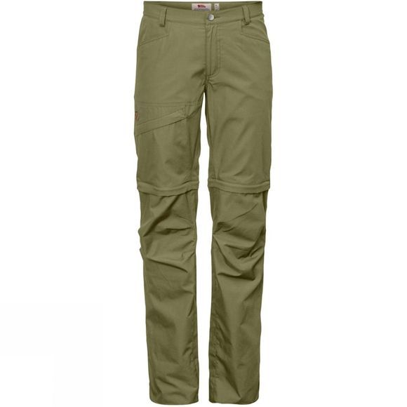 Fjallraven Womens Daloa Shade Zip-Off Trousers Savanna
