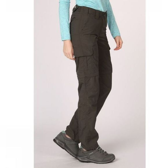 Ayacucho Womens  Naryn II Zip Off Trousers Beluga