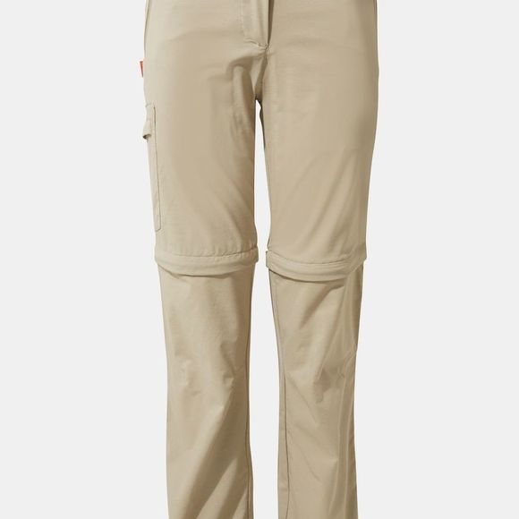 Craghoppers Womens NosiLife Pro II Convertible Trouser Mushroom