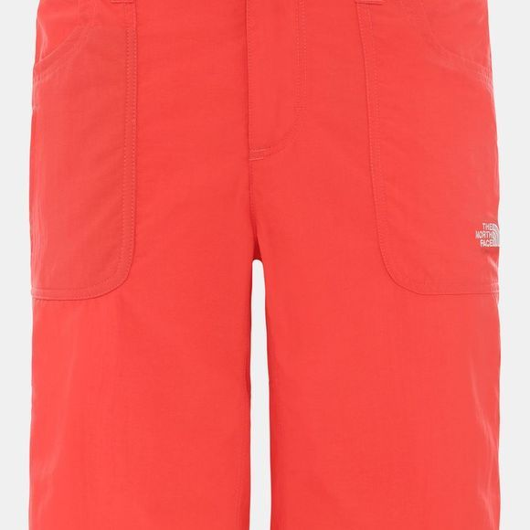 The North Face Womens Horizon Sunnyside Shorts Cayenne Red