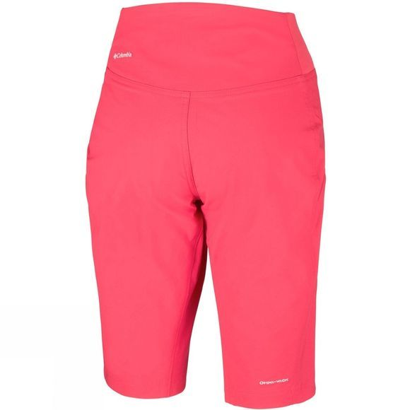 Columbia Womens Back Up Passo Alto Shorts Red Coral