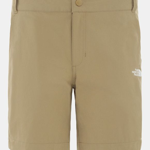 The North Face Womens Exploration Shorts Kelp Tan