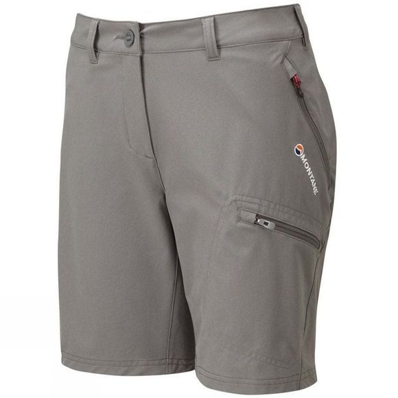 Montane Womens Dyno Stretch Shorts Mercury