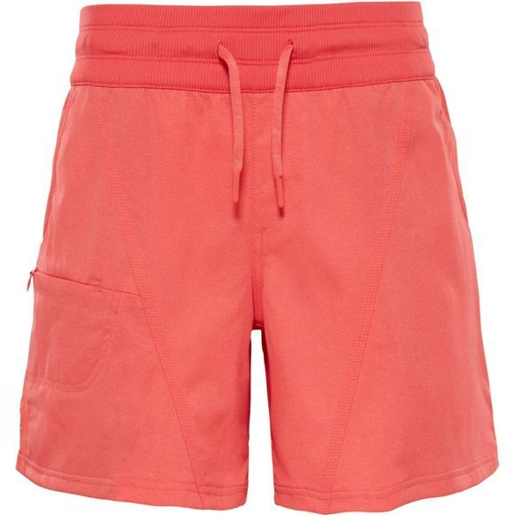 The North Face Womens Aphrodite 2.0 Short Cayenne Red Heather