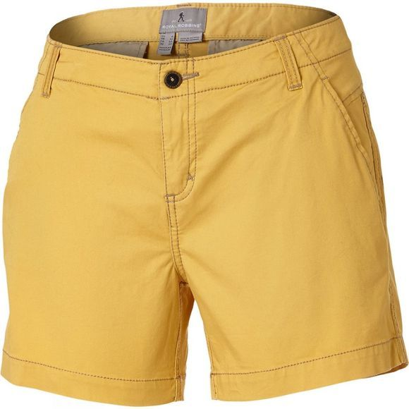 "Royal Robbins Womens Ventura Shorts 5"" Ochre"