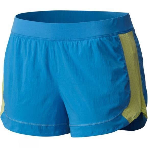 Columbia Womens Titan Ultra Shorts Splash/Neon Light