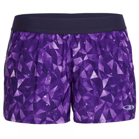 Womens Comet Shorts Lattice Sky