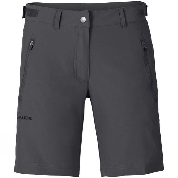 Vaude Womens Farley Stretch Shorts Iron