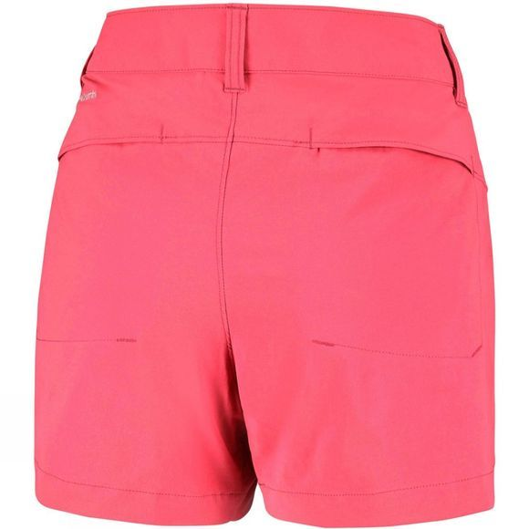Columbia Womens Saturday Trail Shorts Red Coral