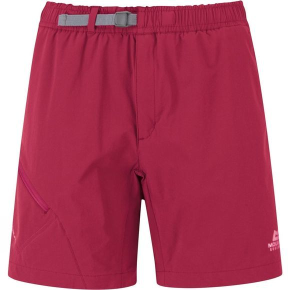 Mountain Equipment Womens Comici Trail Shorts Sangria