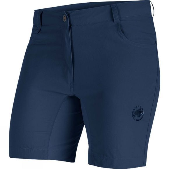 Mammut Womens Runbold Light Shorts Marine