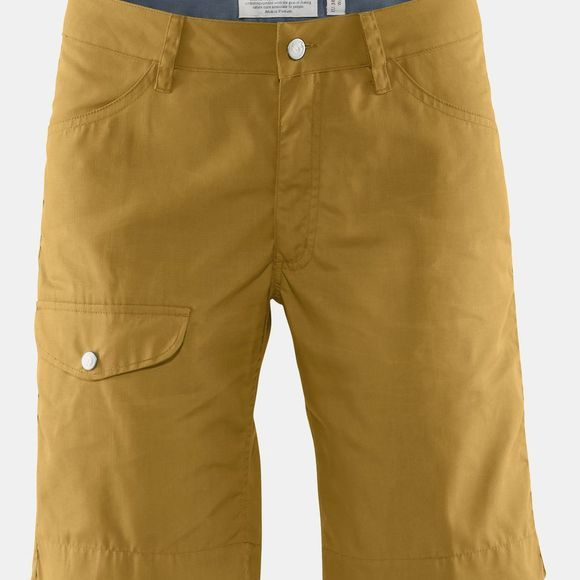 Fjallraven Womens Greenland Shorts Ochre
