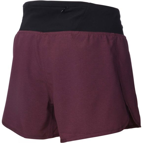 "Inov-8 Womens Inov-8 4"" Trail Shorts Purple / Black"