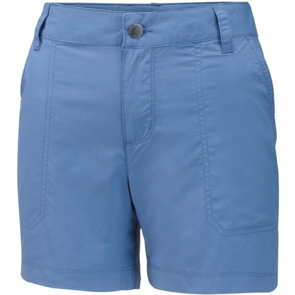 Columbia Womens Silver Ridge 2.0 Short Blue Dusk