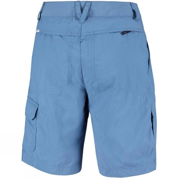 Columbia Womens Silver Ridge 2.0 Cargo Short Blue Dusk