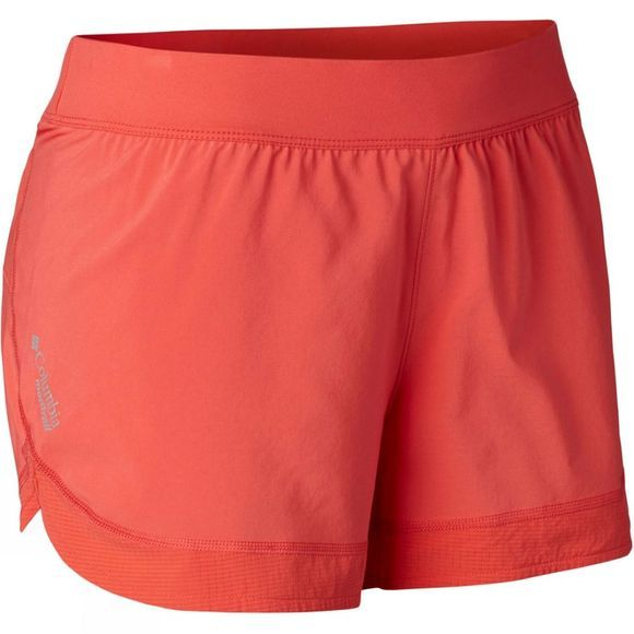 Columbia Womens Titan Ultra II Short Red Coral
