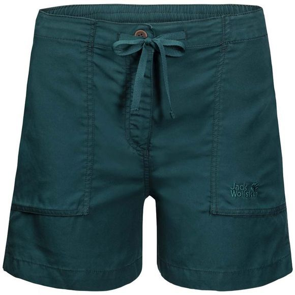 Jack Wolfskin Womens Mojave Shorts Teal Green